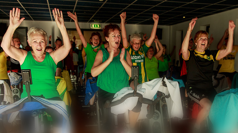 6 weekse beginnerscursus indoor cycling €29,95